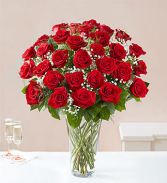 36 RED LONG STEM ROSES