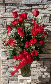 36 RED ROSES ROSES