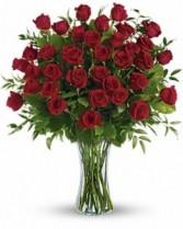 36 Roses Vase Arrangement