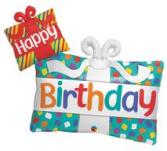 39 inch Happy Birthday Balloon
