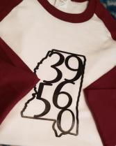 39560 baseball tshirt