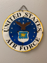 3D Metal US Airforce Sign