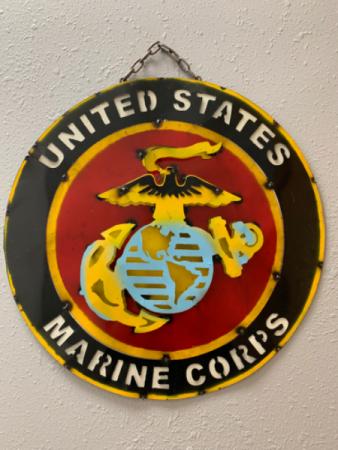 3D Metal US Marine Corps