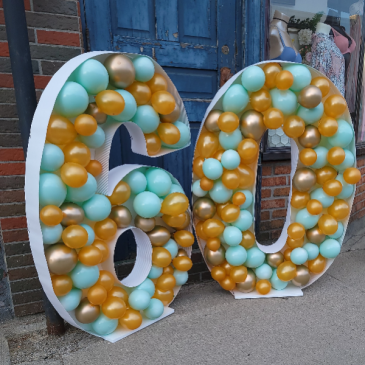 4Ft Number Balloons