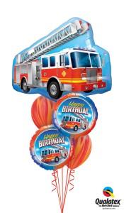 It's a 4 alarm birthday balloons