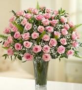 """4 Dozen Pink Roses """"Ultimate Elegance"""""""