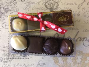 4 Piece Truffle Baton Chocolate in Milton, FL | PURPLE TULIP FLORIST INC.