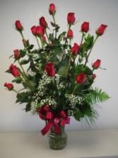 ROMANTIC ROSES 2 dozen roses