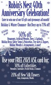 40th Annaversary Sale!
