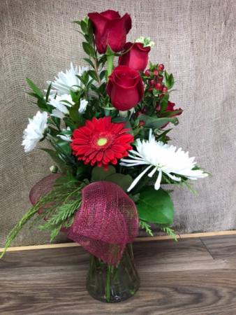 40th anniversary  Fresh Floral Arrangement