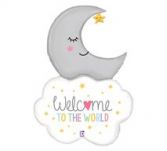 42 Inch Welcome Baby Balloon