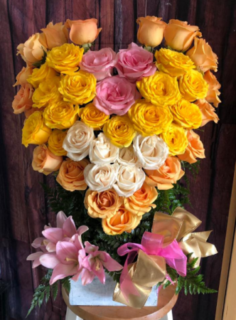 42 Roses and Lilies