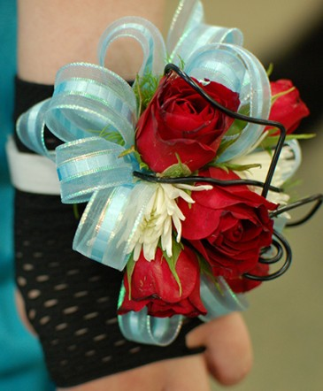 Red Roses Prom Corsage Prom Flowers