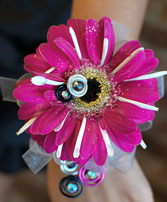 Hot Pink Daisy Prom Corsage Prom Flowers