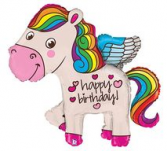 45 inch pony balloon