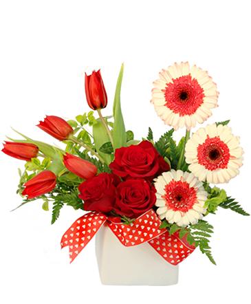 Blushing Admirer Floral Design