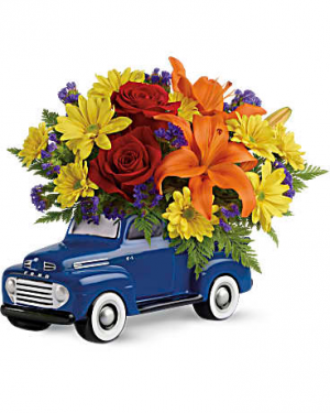 '48 Ford Pickup Bouquet  in Allen, TX | Lovejoy Flower and Gift Shop