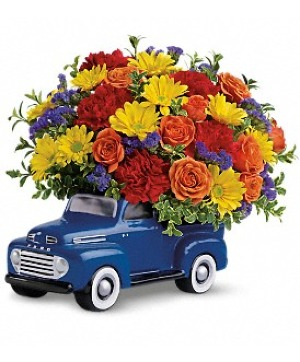 48 FORD PICKUP Bouquet in Winnipeg, MB | Ann's Flowers & Gifts