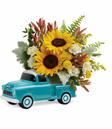 48 Ford Pickup Bouquet A Teleflora Keepsake