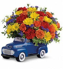 48 Ford Pickup Bouquet birthday