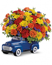 48 Ford Pickup Bouquet Blooms for Him