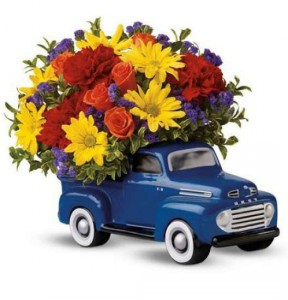 '48 FORD PICKUP TRUCK BOUQUET   in Stafford, VA | Anita's Beautiful Flowers