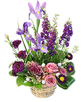 Spring's Treasure Basket Arrangement