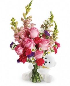 Bear Hug Bouquet