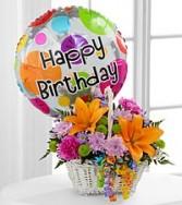 Birthday basket Birthday