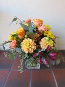 Heart of Fall Custom Fitzgerald Flowers Arrangement
