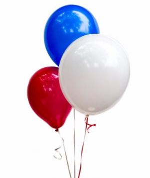 4th of July Balloon Set in Biloxi, MS | Rose's Florist