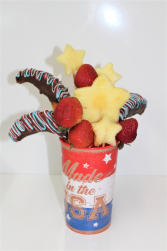 4th of July Cup Arrangement Fruits & Berries