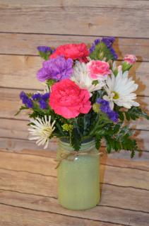 """5.5"""" Mason Jar Vase"""