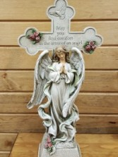 May you find Comfort cross & angel 18