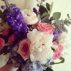 Botany Boho Summer Pastel Handtied Bouquet