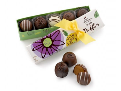 5 pc Spring Truffles Lake Champlain Chocolates
