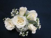 5 Rose Corsage, $35.00