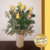 50th Anniversary Bouquet Roses
