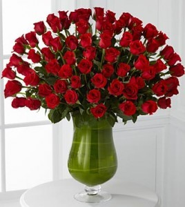 75 Red Roses valentine