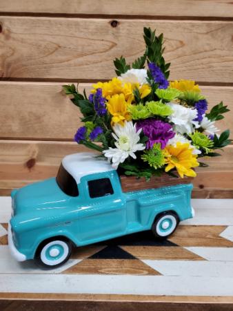 '55 Chevy Pickup Arrangement