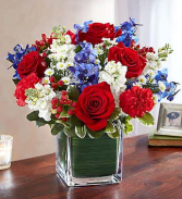 Healing Tears Red White & Blue