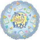 "6 assorted 18"" it's a boy mylar balloons"