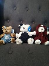 """6"""" Assorted little bears"""
