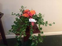 """6"""" Ivy Plant in Fleur de Lis Copper Pot Green Plant"""