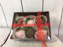 6 Pack Chocolate Covered Strawberries Available 02/10-02/14