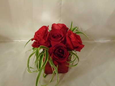6 Rose Romance Arrangement