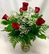 6 Rose Vase
