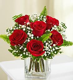 6 roses cube