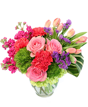 Blossoming Medley Floral Design in Morgantown, IN | CRITSER'S FLOWERS AND GIFTS