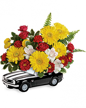 '67 Chevy Camaro Bouquet  in Punta Gorda, FL | CHARLOTTE COUNTY FLOWERS